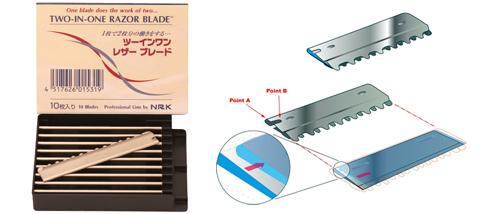 Nikky 2 in 1 Razor Blades